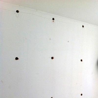 Aislamiento de vivienda construida mediante inyección de poliuretano