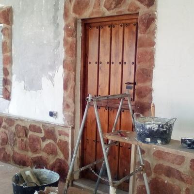 Recuperacion de fachada vivienda