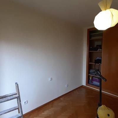 Reparación de paredes y pintura