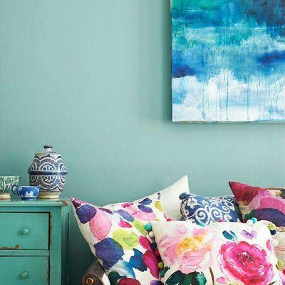 Trae la calma a tu hogar decorando en azul y verde agua marina