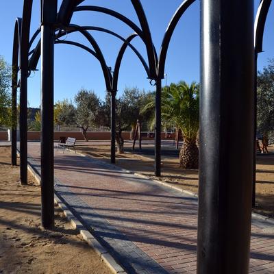 Estructuras de Hierro En Parque de Ceutí