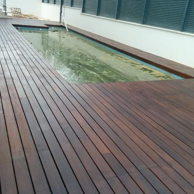 Ideas de poner parquet o tarima vivienda completa en - Ipe madera exterior ...