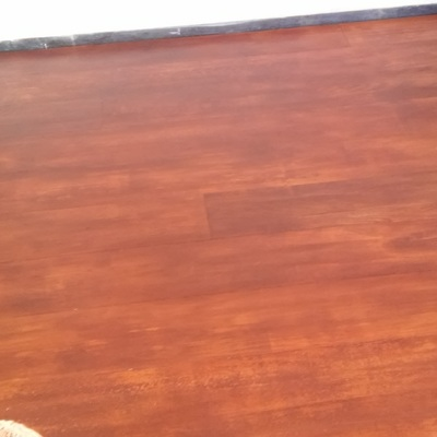 Sustitución de piso por parquet
