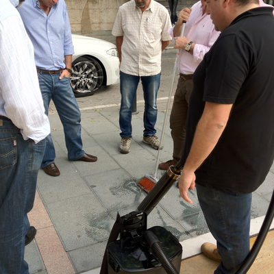 Limpieza de Chicles - Gumpak España - Marbella
