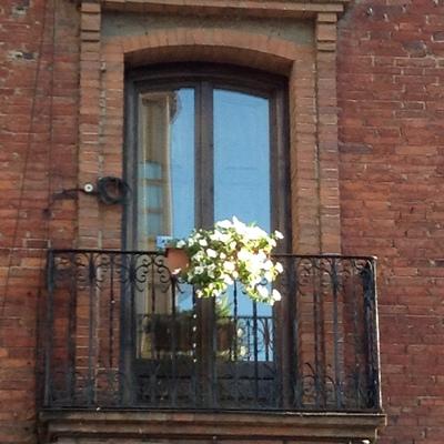 Parte exterior balconera