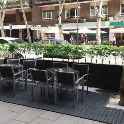 Paisajismo de terraza la Alacena de Madrid
