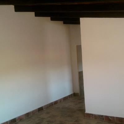Interior de una casa rural