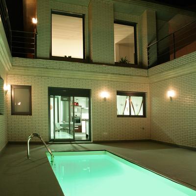 Proyecto de vivienda unifamiliar casa patio en Zuera (Zaragoza)