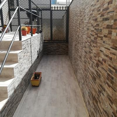 Reforma en un patio en Ocaña ( Toledo)