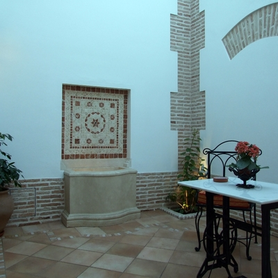 Patio en vivienda unifamiliar