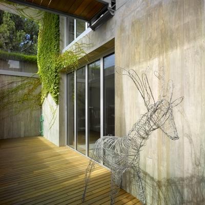 Ideas y fotos de muro hormig n para inspirarte habitissimo - Patio ingles ...
