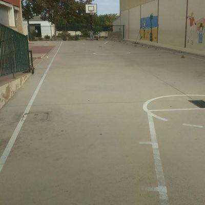 Patio de juegos en colegio Jaime I el conquistador de Paterna