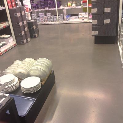 Pavimento decorativo de hormigón