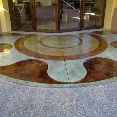 Pavimento decorativo