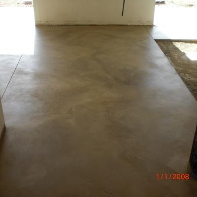 Pavimento de hormigón pulido en interior