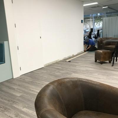 Decoración oficinas Nestle