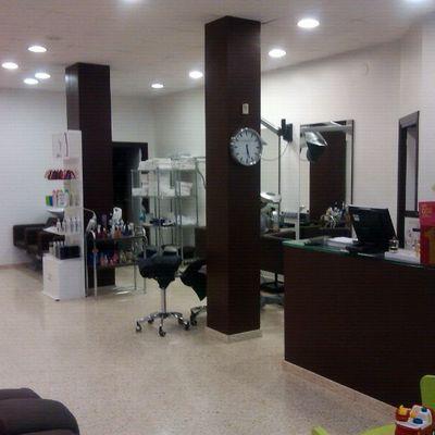 Pintar peluquería