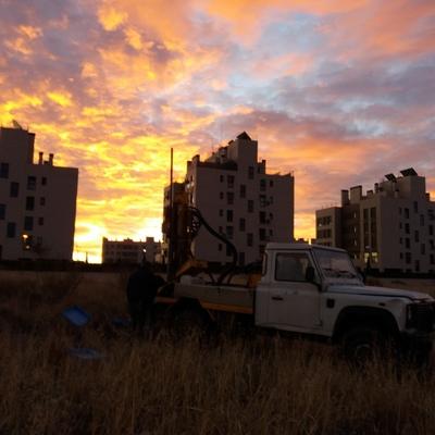 Estudio geotécnico para varias viviendas unifamiliares adosadas