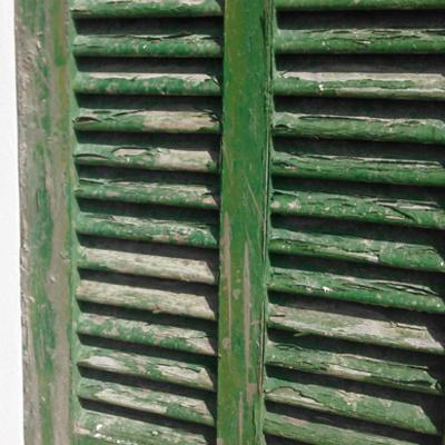 Restauración de persianas mallorquinas