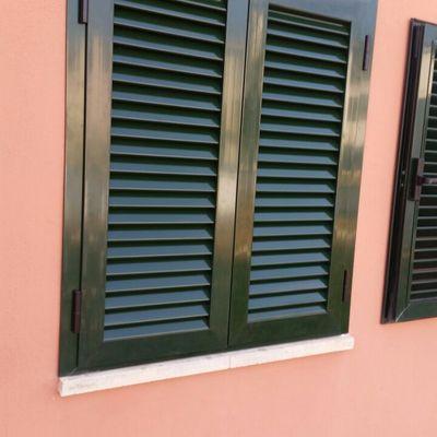 persiana mallorquina lacado verde 6009