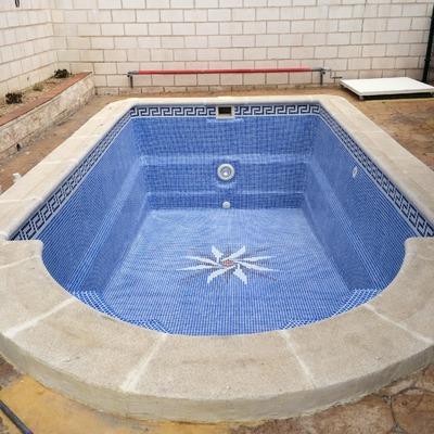 Lechado de piscina en Madrid