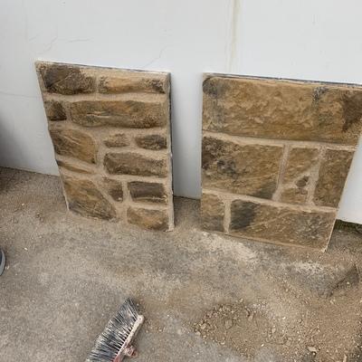 Imitación a piedra