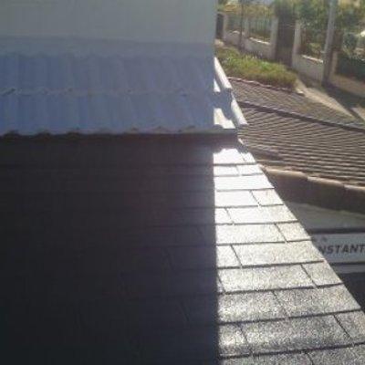 Limpieza de tejado de chalet en Alberite