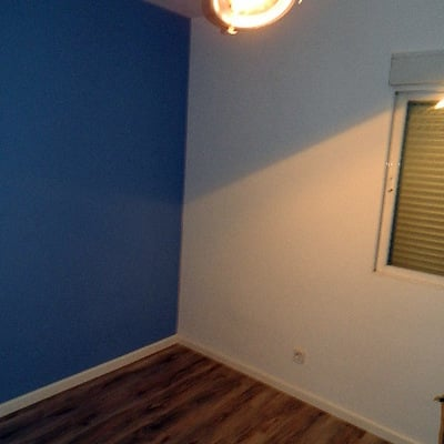 Pintado de vivienda y suelo laminado