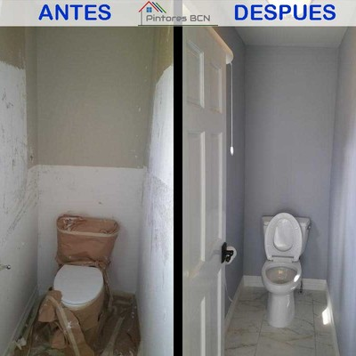 Pintar cuarto de baño
