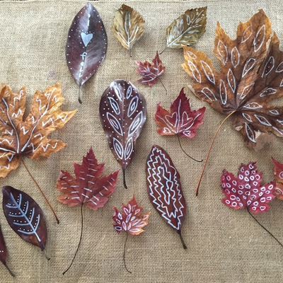Pintar hojas