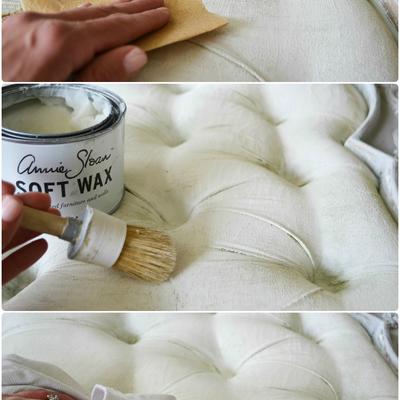 Cómo pintar tejidos con Chalk Paint