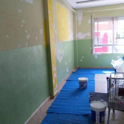 Pintura en Colegios, Hoteles, Comunidades, etc...