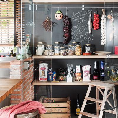 6 Rincones de tu casa que puedes decorar con pizarra