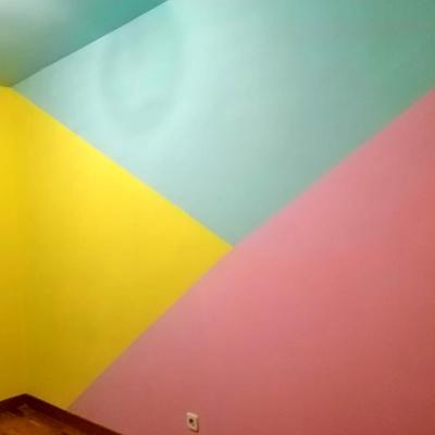 Pintura decorativa habitación infantil