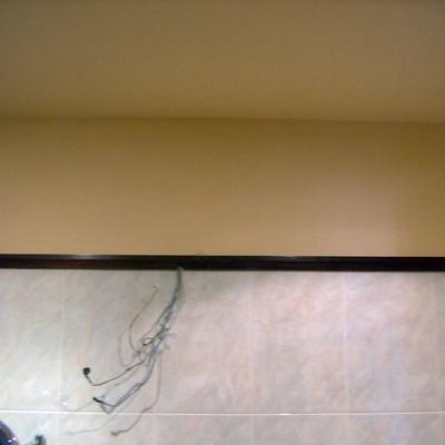 Pintura en cuarto de baño