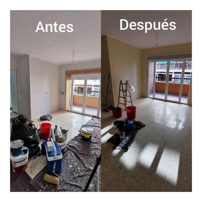 Pintura en piso completo