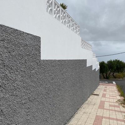 Proyecto pintura exterior de vivienda