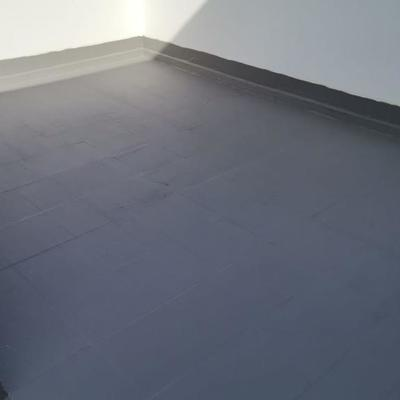 Proyecto pintura impermeabilización pared lateral de vivienda y azotea