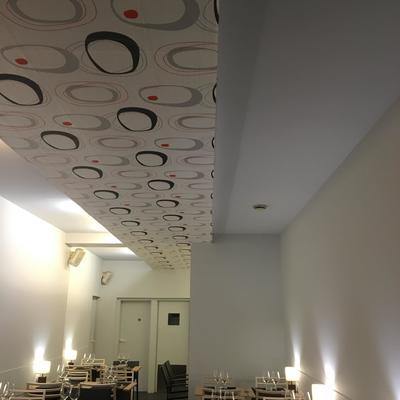 Pintura y decoración en restaurante