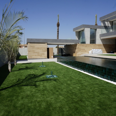 Vivienda con piscina en Dolores de Pacheco.