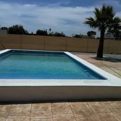 construcion de piscina