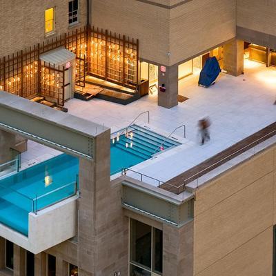 piscina ático