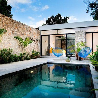 Ideas y fotos de sillas acapulco para inspirarte habitissimo for Patios modernos con piscina