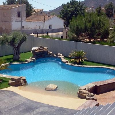 Precio construcci n piscinas en alicante habitissimo - Precio piscinas de arena ...