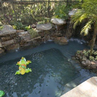 piscina después