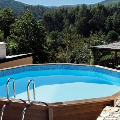 Ideas y fotos de construcci n piscinas hormig n para for Piscina elevada madera