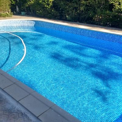 piscina en perfecto funcionamiento