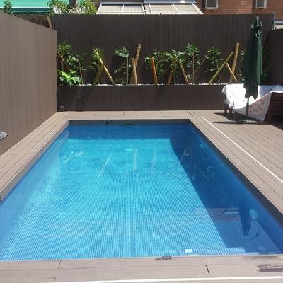Precio construcci n piscinas en madrid habitissimo Piscina interior precio