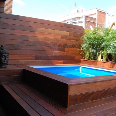 Cuanto cuesta construir una piscina diferencias entre for Cuanto sale hacer una pileta de cemento