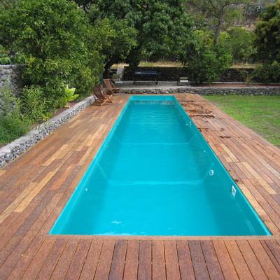 Presupuesto piscinas madera online habitissimo Piscinas alargadas y estrechas